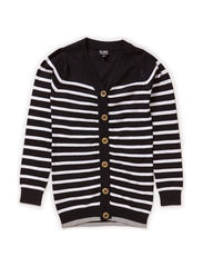 ABY CARDIGAN - BLACK