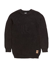 KNIT PULLOVER HARRY - BLACK