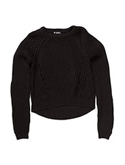 KNIT SNOR - BLACK