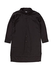 LONG SHIRT THIT - BLACK