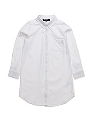 MYRNA LONG SHIRT - WHITE