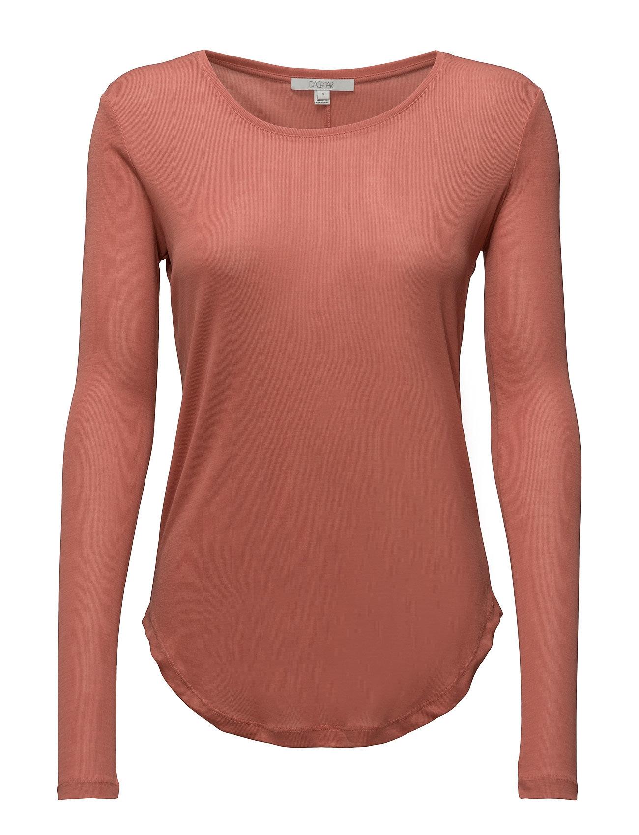 Eli Rib Top Dagmar T-shirts & toppe til Kvinder i