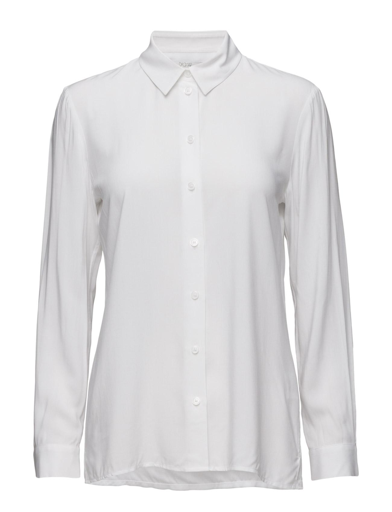 Lisen Shirt Dagmar Langærmede til Kvinder i hvid