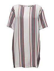 Fedelia dress - STRIPE PRINT