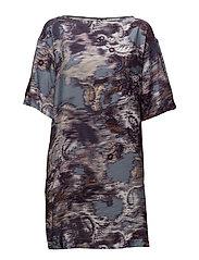 Finella Dress - WALLPAPER PRINT