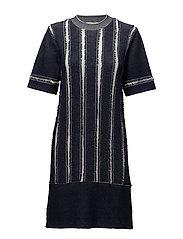 Fran dress - MAGNET BLUE
