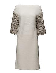 Jaquline dress - PEBBLE STONE