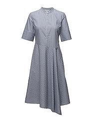 Camilla Dress - BLUE STRIPE