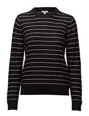 Love Merino - Black/White Stripe