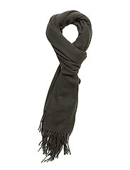 Woven solid scarf - MILITARY GREEN