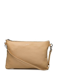Leather strap bag - VANILLA