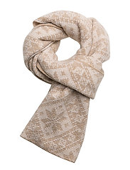 Rose scarf - BEIGE MEL./OFF WHITE