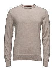 Magnus Masculine sweater - BEIGE MEL.