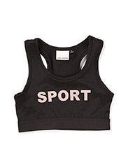 Sport top - BLACK