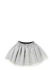 Tulle skirt - silver