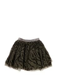 tulle skirt - GREY TIG