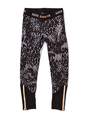 pants - grey leopard