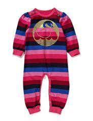 Prinsesse Suit - Midnightsnack Stripe SWAN