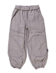 Jernbane Pants - Navy/White