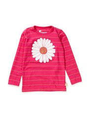 Northpole Tee - Hotpink/lurex gold DAISY
