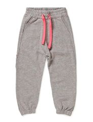 Atletik Pants - Light Heather Grey/Neon Pink