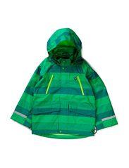 Himmelbjerg Midseason Jacket - Grass Green/Green/Spring Green