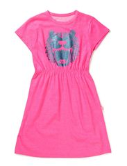 Calypso Dress - Fluo Pink TIGER