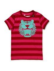 Signe Ringer - Red Rasberry/Hotpink Stripe TIGER