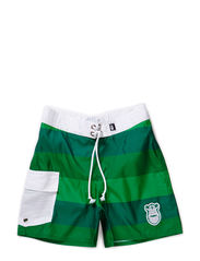 Froemand Surf Trunks - Grass Green/Green/Spring Green