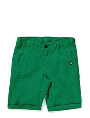 Gaucho Shorts - Navy/Green PLAID