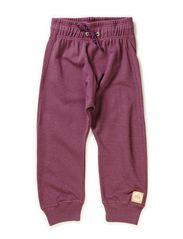 Kringle pants - Grey lila/gold lurex