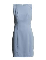 GABRIELLA DRESS - DUSKY BLUE