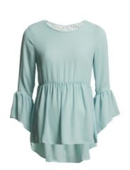 KIRSTY TOP - POWDER BLUE