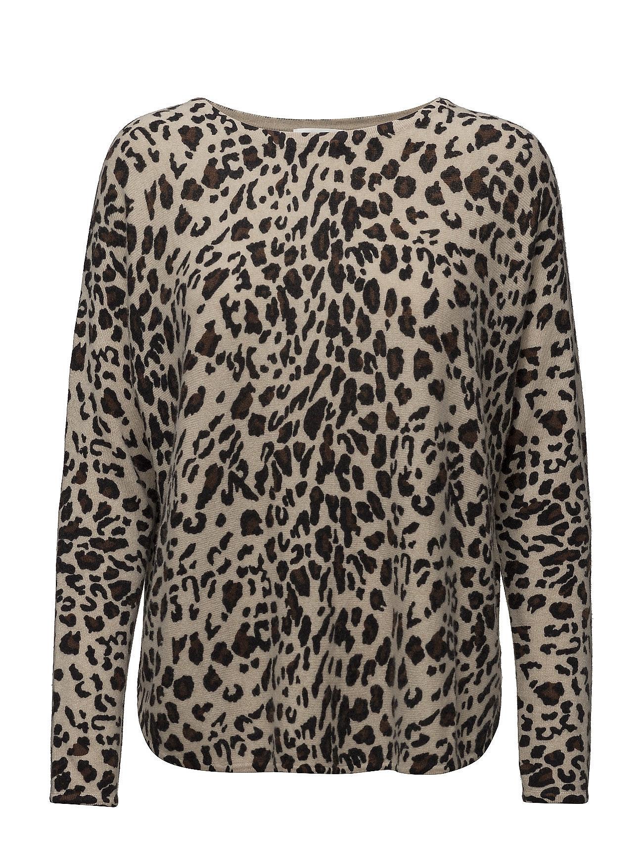 davida cashmere Curved sweater fra boozt.com dk