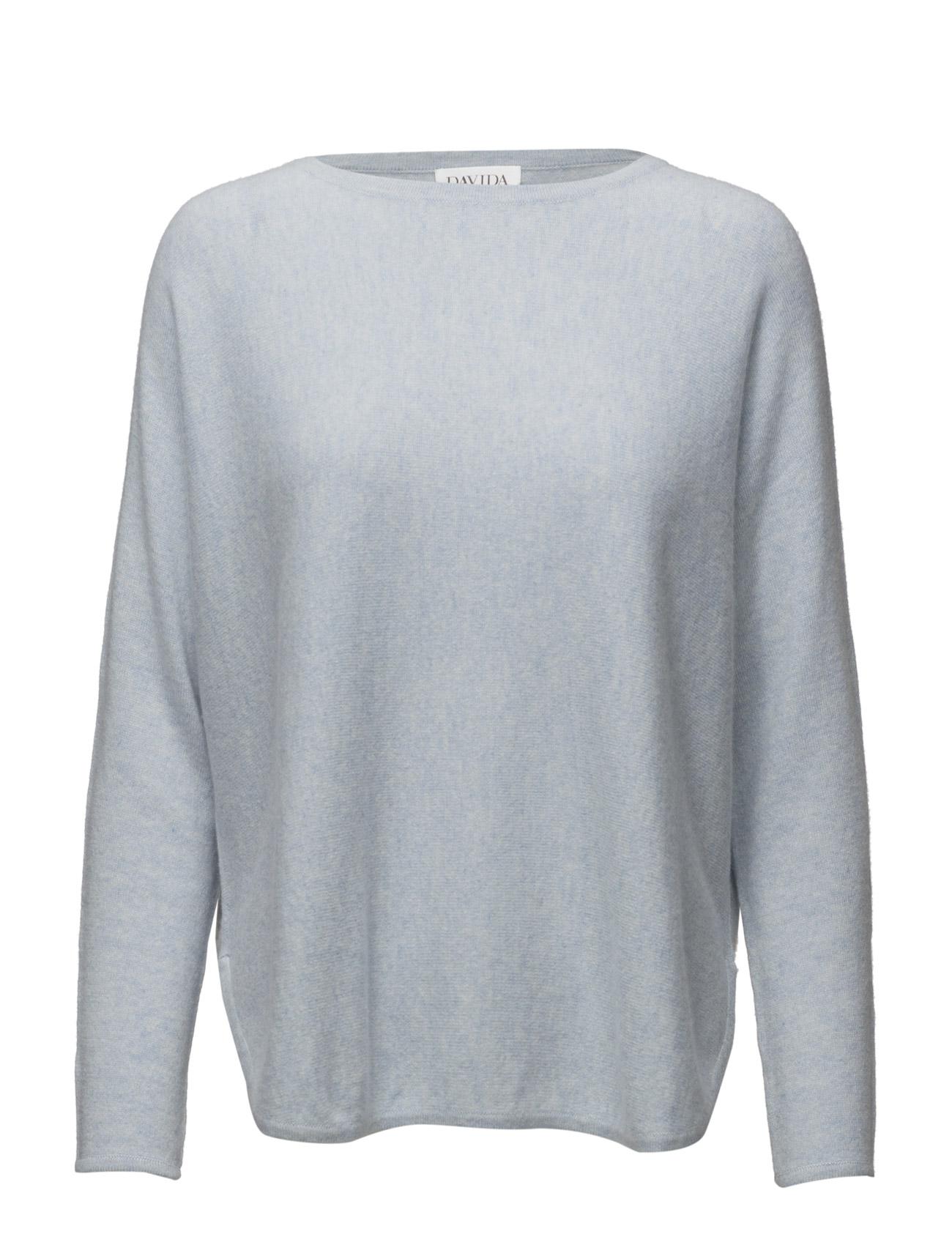 Curved Sweater Davida Cashmere Sweatshirts til Damer i