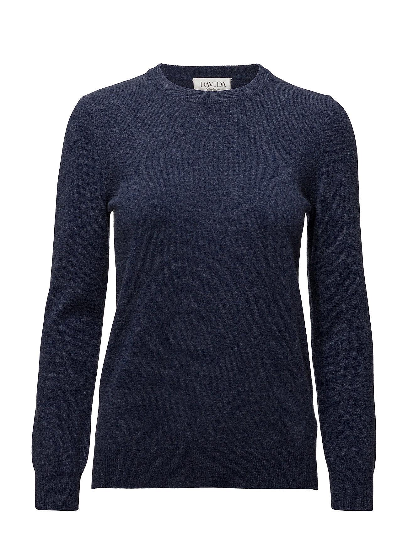 davida cashmere Basic sweater fra boozt.com dk