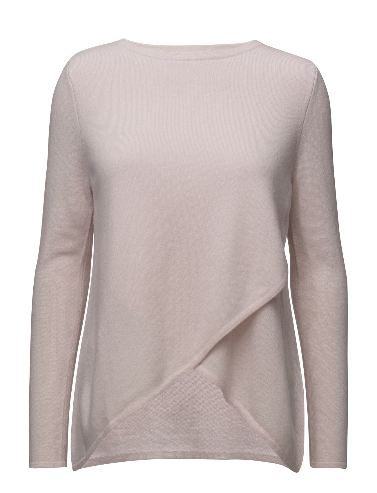 davida cashmere – Wrap front sweater på boozt.com dk
