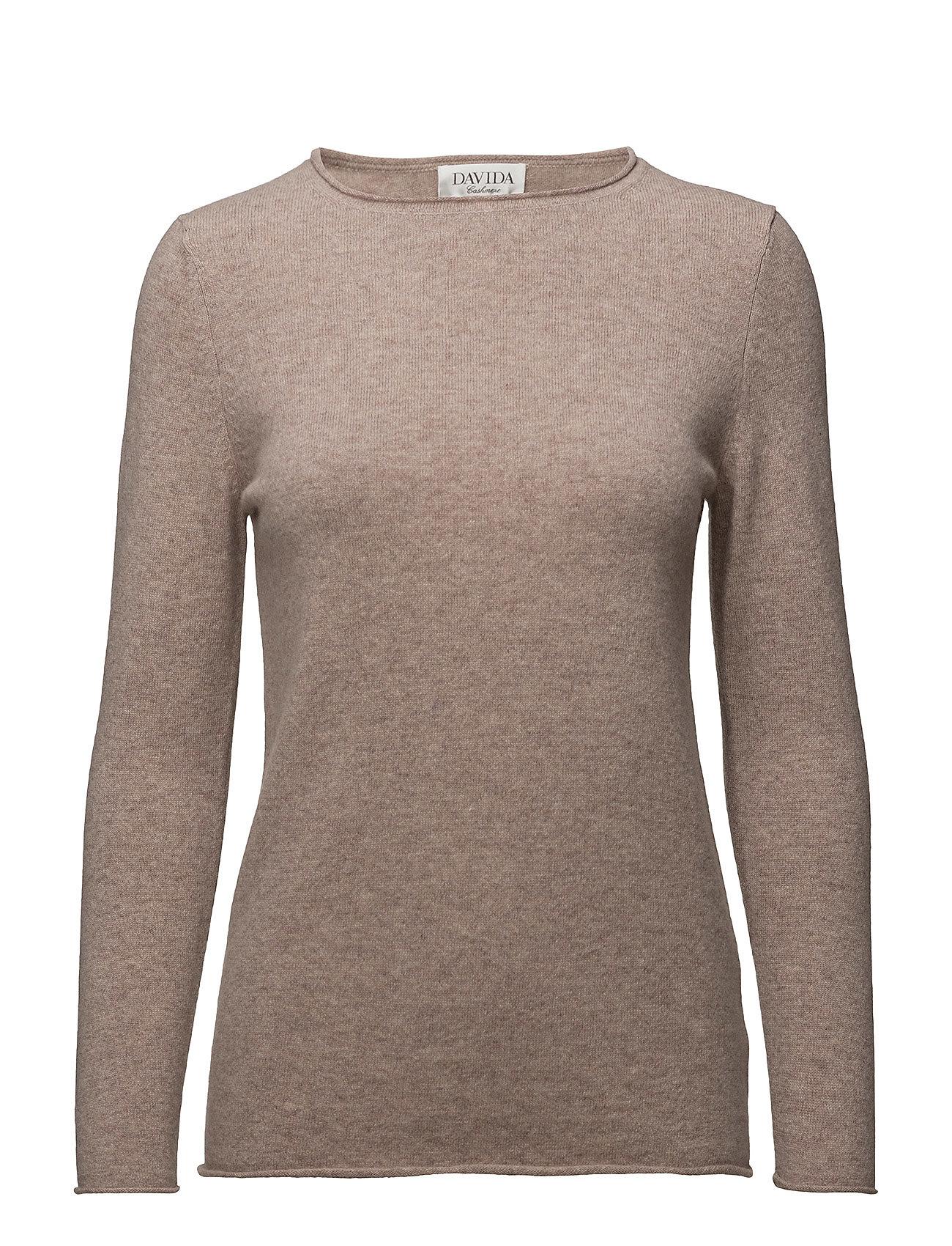 davida cashmere – Raw edge sweater på boozt.com dk