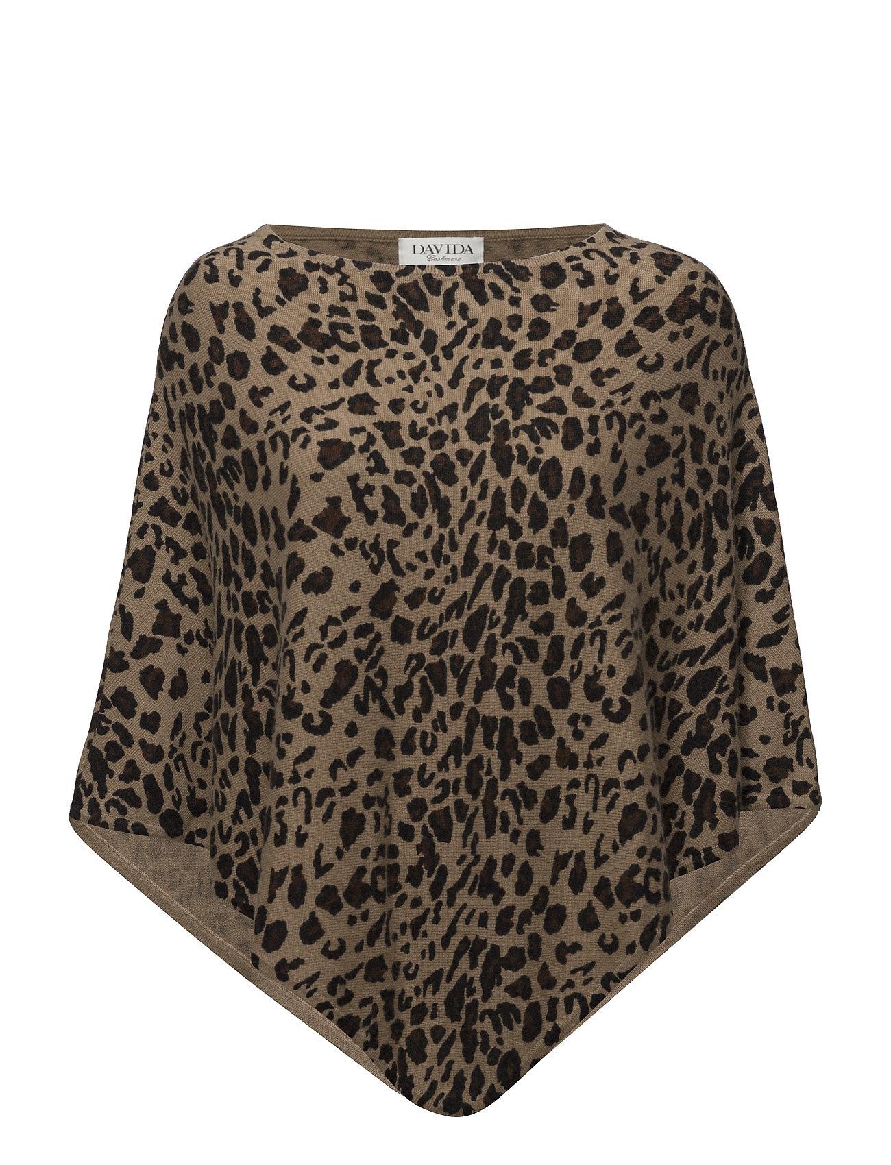 davida cashmere – Leopard poncho fra boozt.com dk