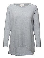 Loose Sweater - LIGHT BLUE