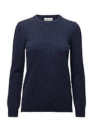 Basic sweater - DENIM BLUE