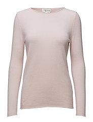 Raw Edge Sweater - LIGHT PINK