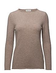 Raw Edge Sweater - SAND
