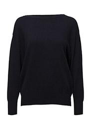 Boatneck Sweater - NAVY