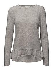 Sweater Flounce - LIGHT GREY