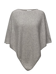 Triangle poncho - LIGTH GREY