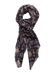 Day Deluxe Logo Scarf - MAUVE BROWN