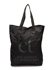 Day Carry Solid Tote - BLACK