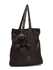 Day Bear Tote - BLACK