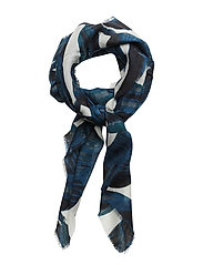 Day Deluxe Foglie Scarf - EVENING BLUE